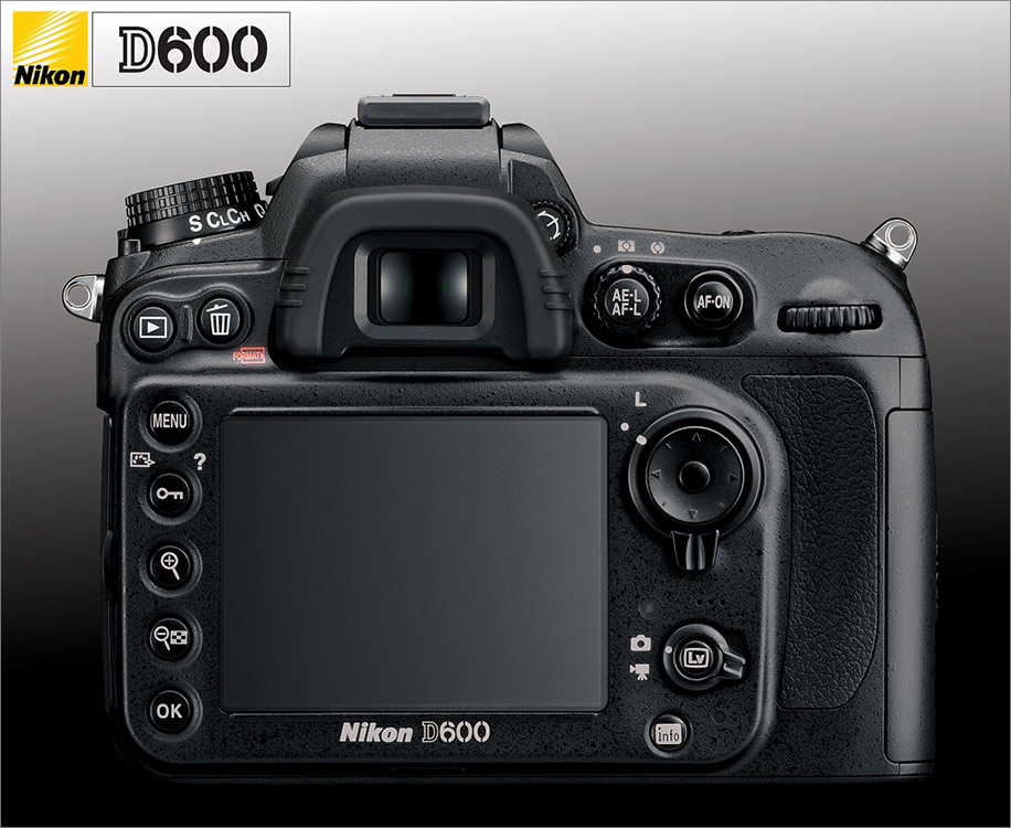 Nikon D600 back Is this the back of the Nikon D600?