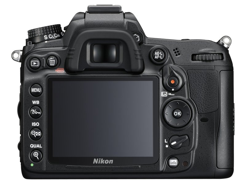 Nikon D7000 back Is this the back of the Nikon D600?