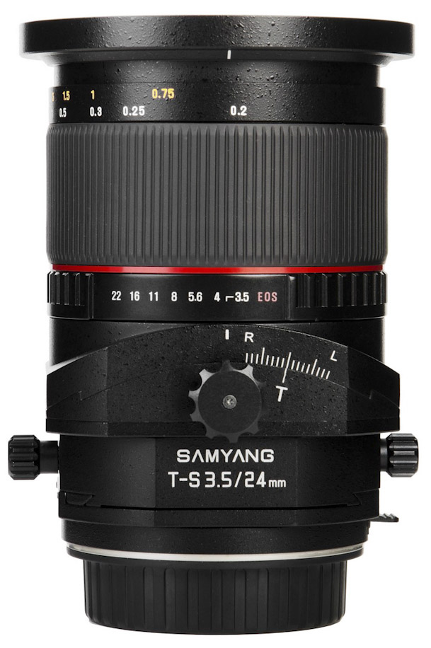Samyang T S 24mm 1 3.5 ED AS UMC lens for Nikon mount6 Two new lenses with Nikon F mount: Zeiss Apo Sonnar T* 2/135 and Samyang T S 24mm 1:3.5 ED AS UMC