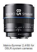 Schneider Kreuznach Makro Symmar f24 85mm lens Photokina day 0