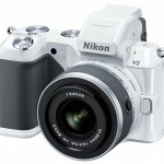 Nikon 1 V2 mirrorless camera white