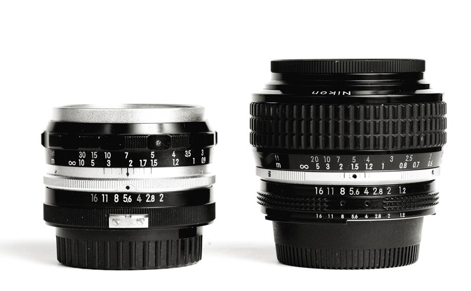 Nikkor-S 5cm 1:2 lens