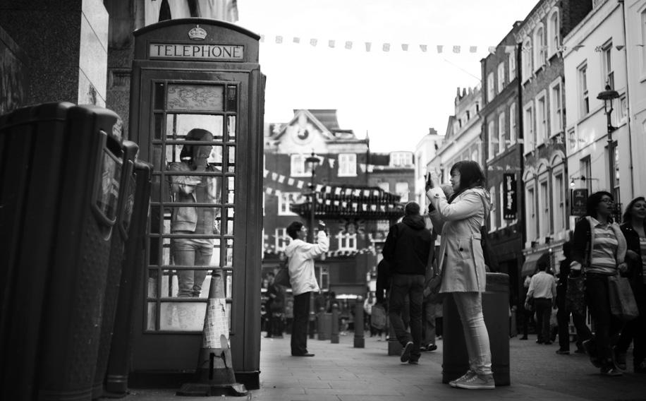 London China town, @ f/2.0