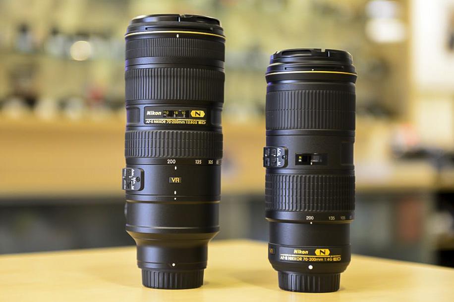 Nikon 70 200 f4.0 VR lens 1 Nikkor 70 200mm f/4G ED VR lens now shipping