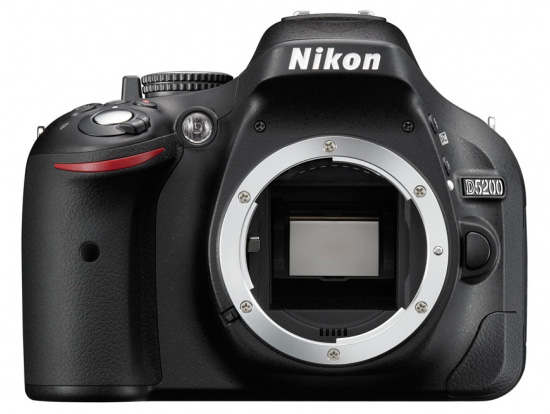 Nikon D5200 front Nikon D5200 and WR R10/WR T10 wireless remote controller announcements