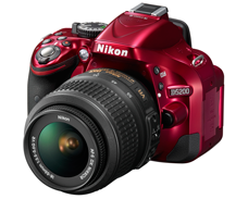 Nikon D5200 red Nikon D5200 and WR R10/WR T10 wireless remote controller announcements