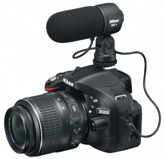 Nikon D5200 video setup Nikon D5200 and WR R10/WR T10 wireless remote controller announcements
