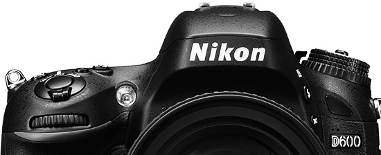Nikon D600 bw top Nikon releases new firmware upgrades for the D600 and D800 cameras