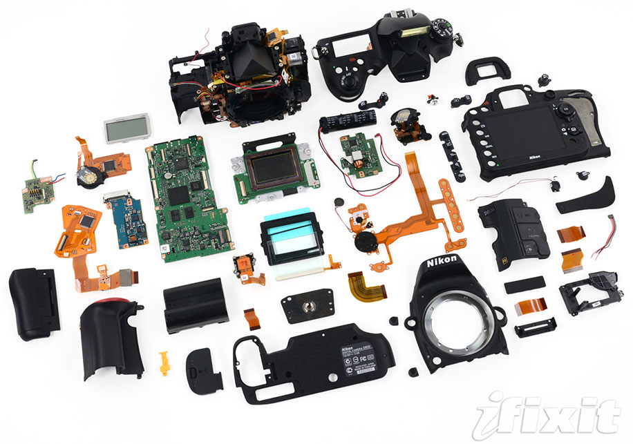 For anyone who'd like to see what goes into a Nikon D700