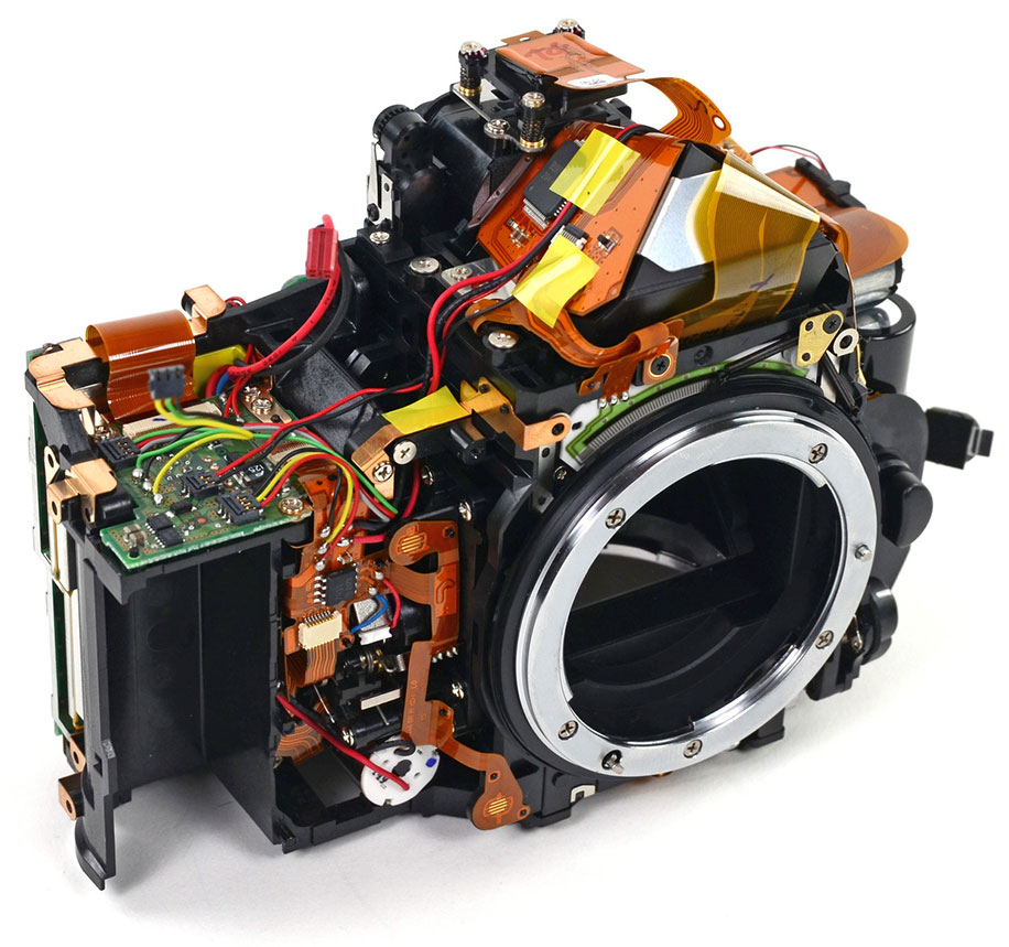 Nikon D600 Teardown Rumors Where To Get Parts Diagram For A D5000 Slr With Dx Vr Afs The