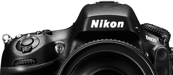 Nikon D800 bw top Nikon releases new firmware upgrades for the D600 and D800 cameras