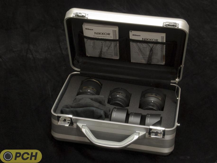 Nikon f1.8 lens case 5 Nikkor f/1.8 limited edition lens kit