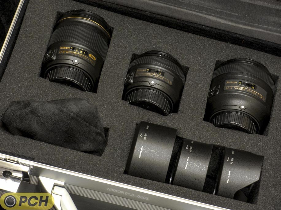 More images of the new Nikkor f/1.8 case and an unboxing video after ...