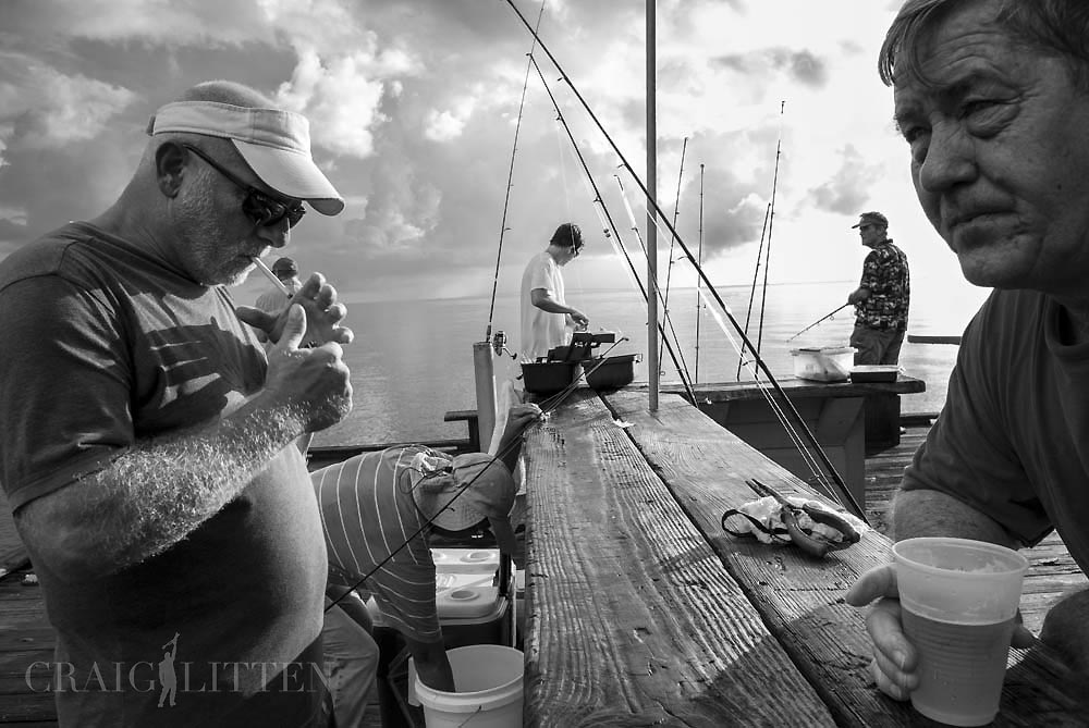 586fd802202 Craig Litten documents the the old city pier on Anna Maria Island ...