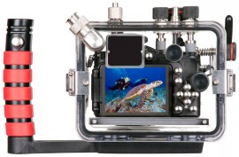Ikelite underwater housing for Nikon Coolpix P7700 back