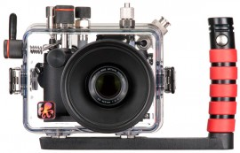 Ikelite underwater housing for Nikon Coolpix P7700 front