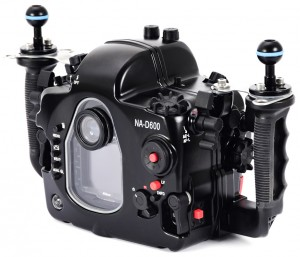 Nauticam NA-D600 underwater housing for Nikon D600 camera
