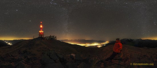 Christoph Malin talks about his documentary of the night sky near the Island of La Palma