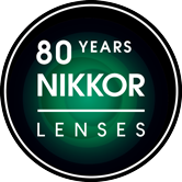 80 years Nikkor lenses