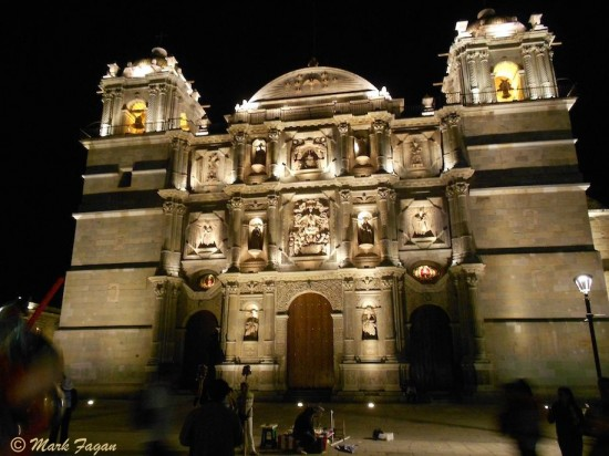 Cathedral Oaxaca Mexico