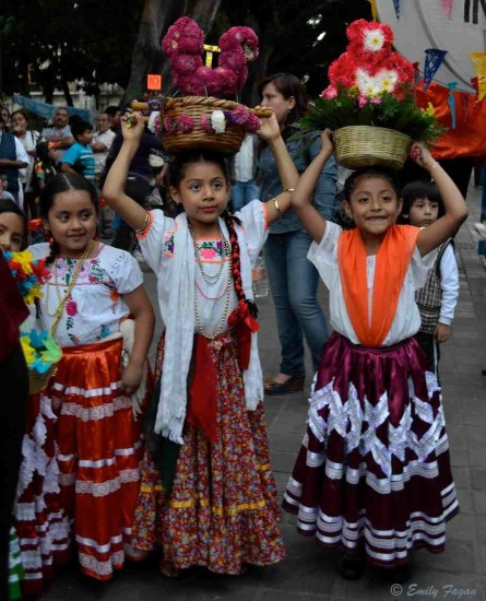 Girls in Oaxaca