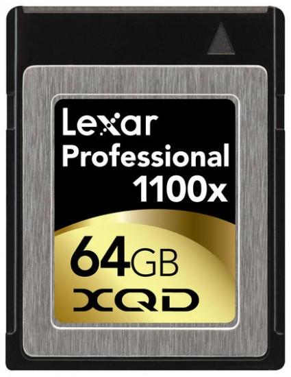 Lexar XQD 64GB memory card