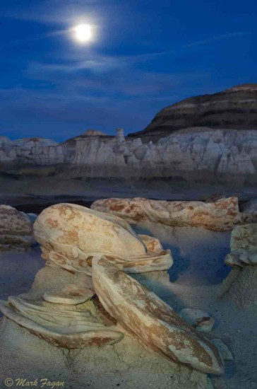 Light Painting Bisti Badlands NM
