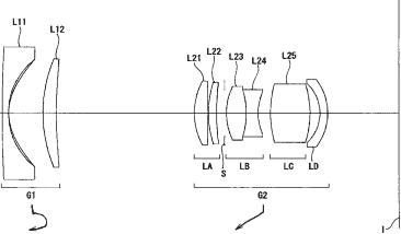 Nikkor 18-55mm f3.5-5.6 lens patent