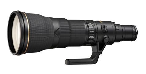 Nikkor 800mm f5.6E FL ED VR lens