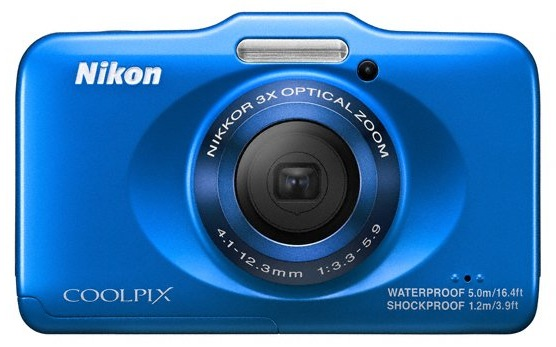 Nikon Coolpix S31-blue