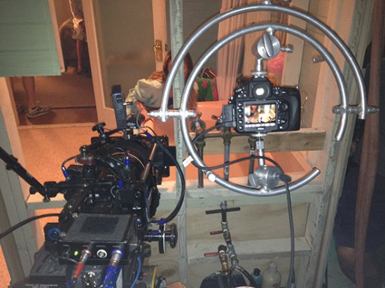 Nikon D800 shooting Dexter (2)