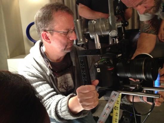 Nikon D800 shooting Dexter