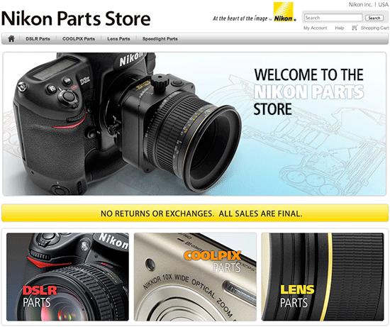 Nikon-parts-store