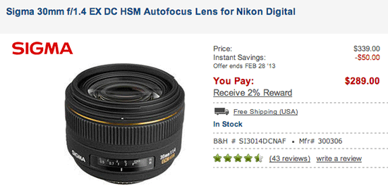 Sigma-30mm-f1.4-EX-DC-HSM-lens-sale