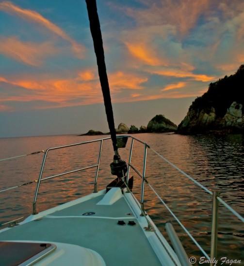 Sunset Tangolunda Bay