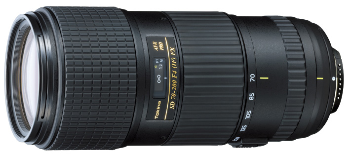 Tokina 70 200mm f4 FX lens Tokina announces 70 200mm f/4 (FX) and 12 28 f/4 (DX) lenses with Nikon mount