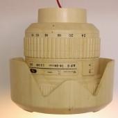 Giant wooden Nikkor lens lamp (4)