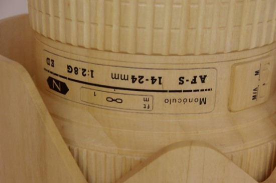 Giant wooden Nikkor lens lamp (7)