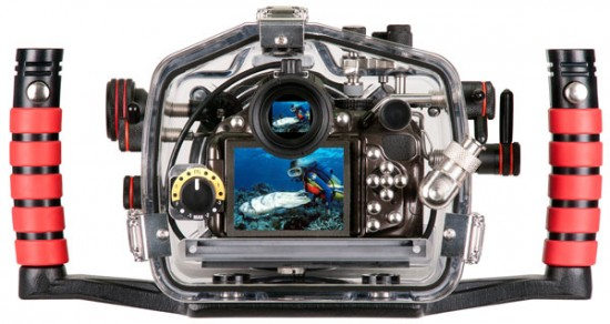 Ikelite underwater housing for Nikon D5200 (2)