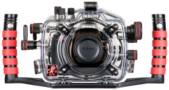 Ikelite underwater housing for Nikon D5200