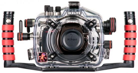 Ikelite underwater housing for Nikon D5200