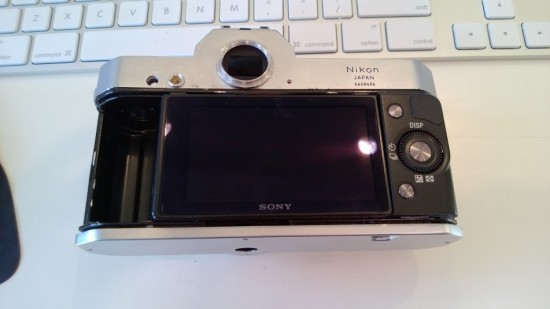 Nikon Nikkormat with Sony NEX-5N digital guts (2)