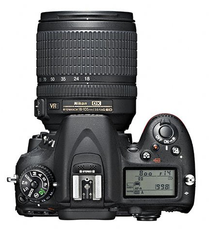 Nikon D7100 18 105 top Nikon D7100 announcement