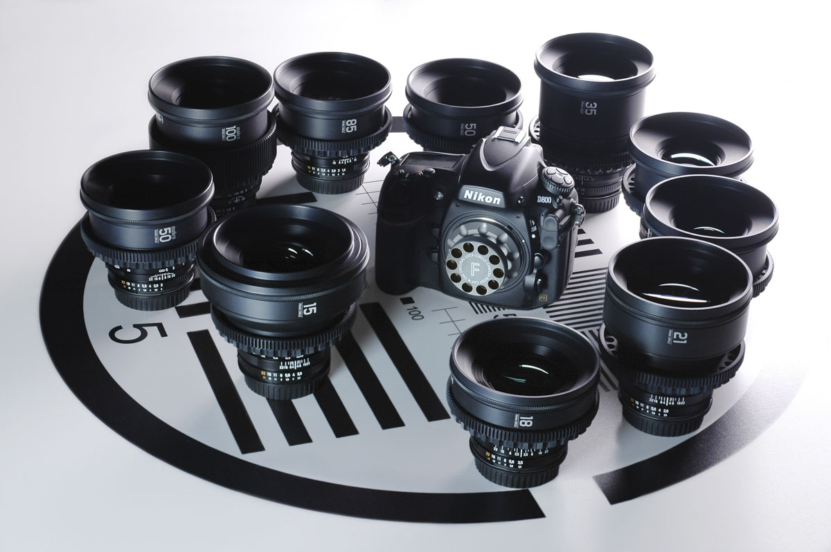 Prime Circle XT-F cine-style lenses with Nikon F-Mount by LockCircle 5