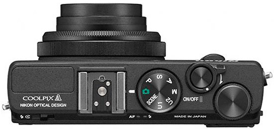 Nikon-Coolpix-A-camera-top