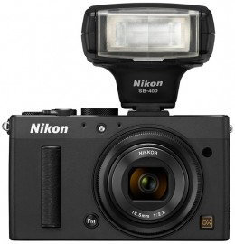 Nikon-Coolpix-A-with-SB-400-flash