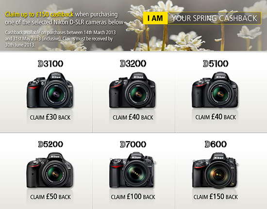 Nikon-UK-cashback-program