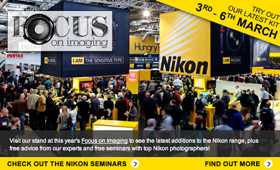 Nikon-at-Focus-on-Imaging-show-seminars