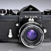 The first pre-production Nikon F camera
