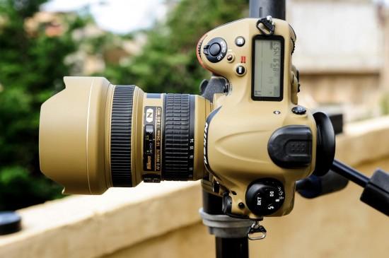 Desert Lizard Camo Nikon gear 3